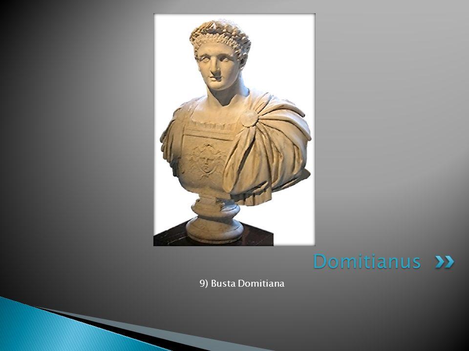 Domitianus 9) Busta Domitiana