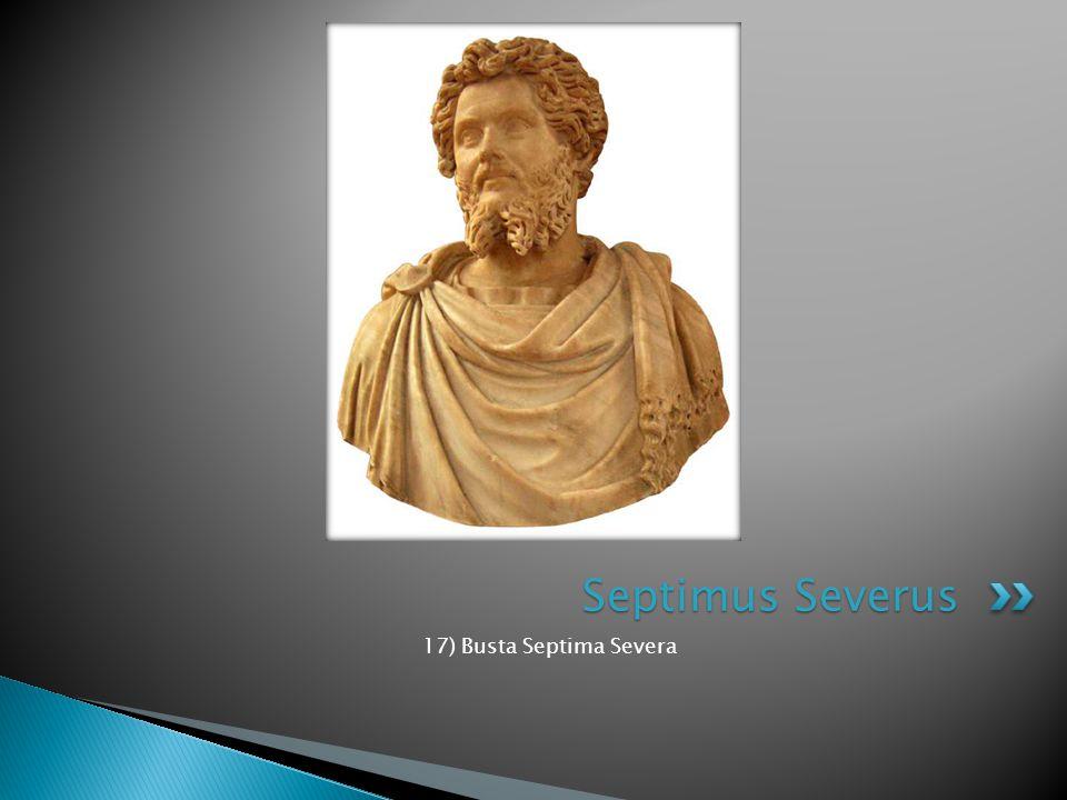 Septimus Severus 17) Busta Septima Severa