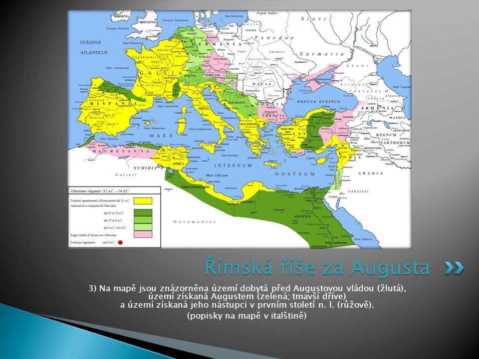 (popisky na mapě v italštině)