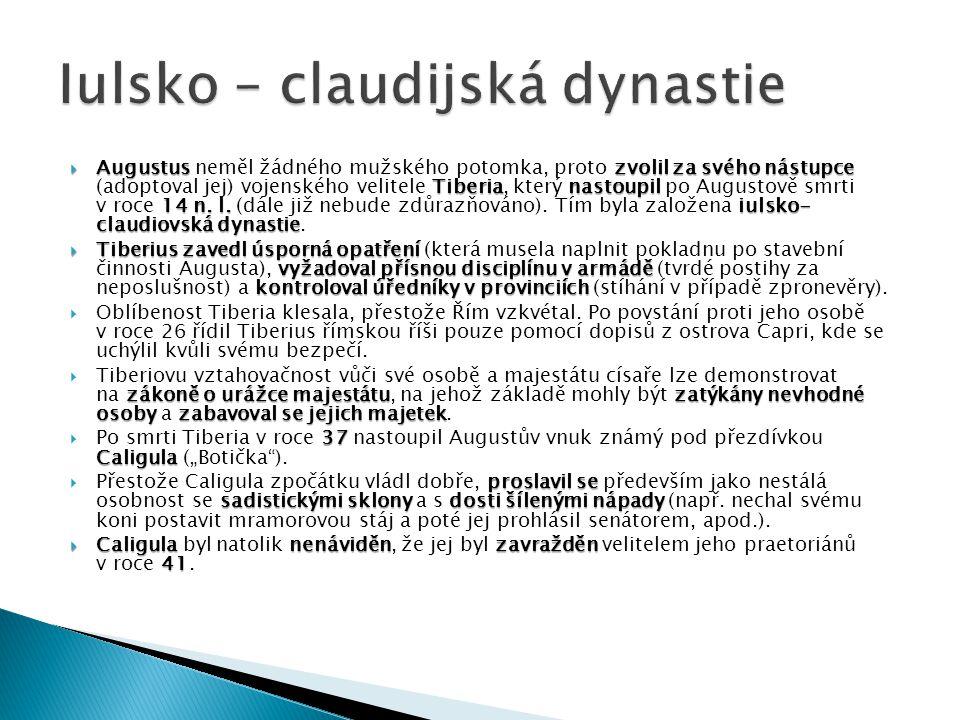 Iulsko – claudijská dynastie