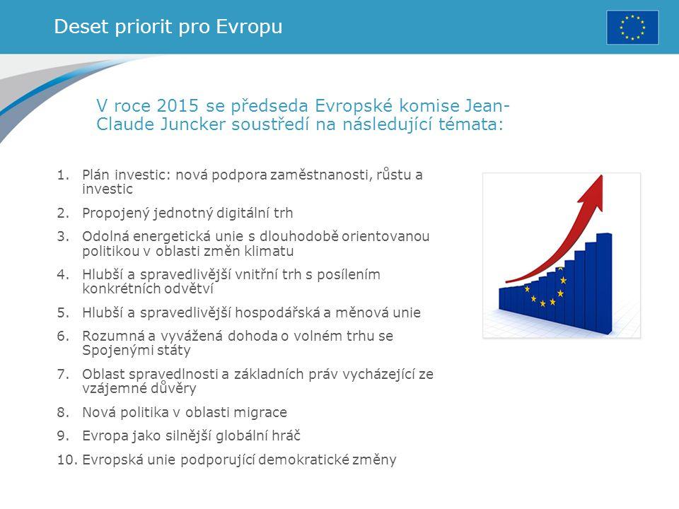 Deset priorit pro Evropu