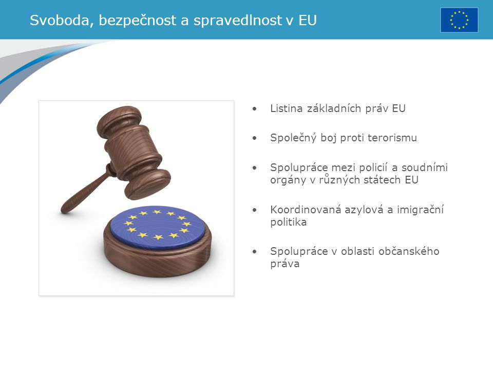 Svoboda, bezpečnost a spravedlnost v EU