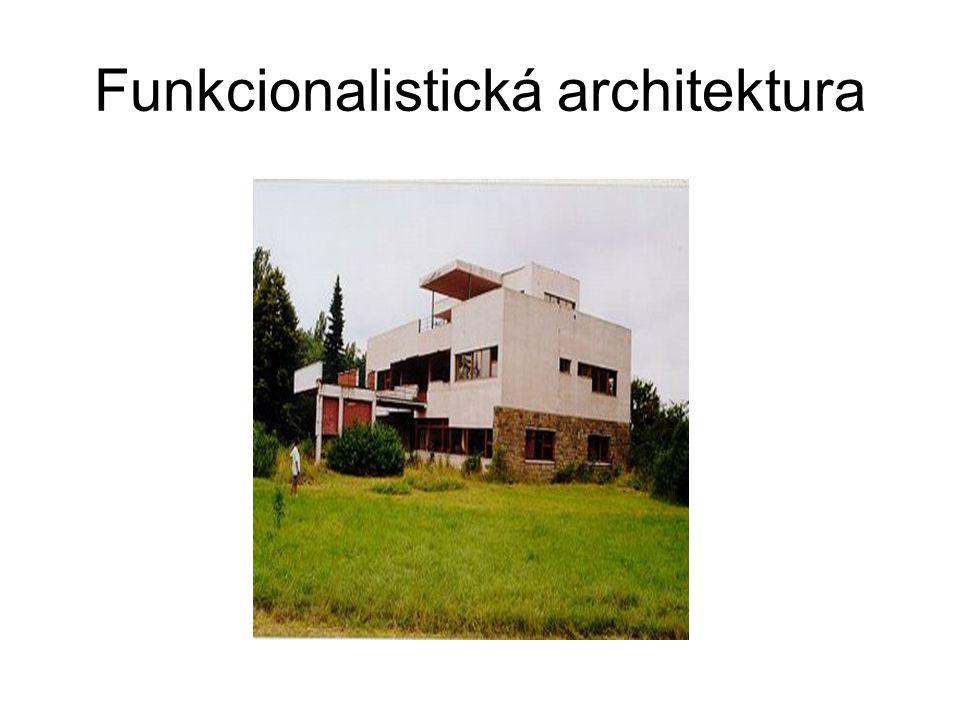 Funkcionalistická architektura