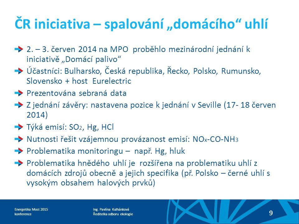 """ČR iniciativa – spalování """"domácího uhlí"""