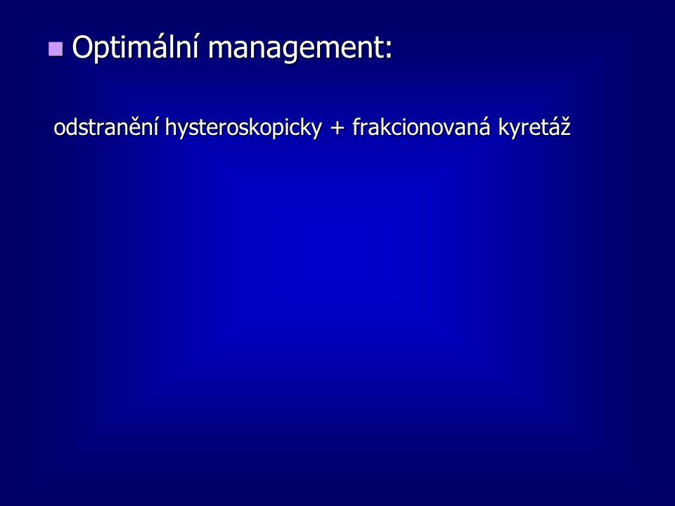Optimální management: