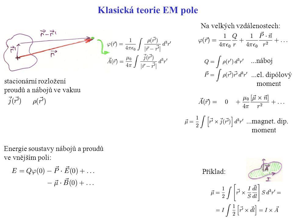 Klasická teorie EM pole