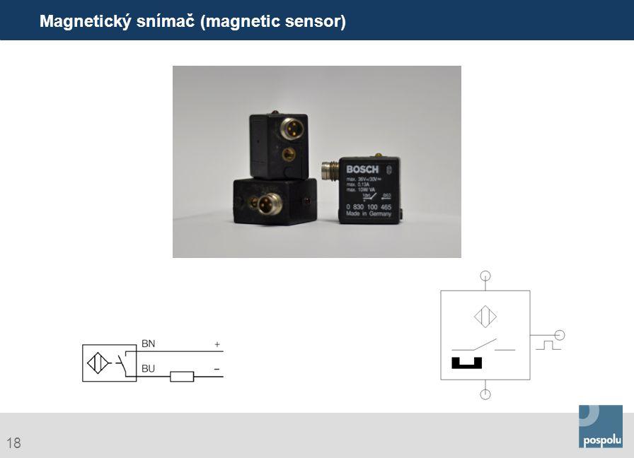 Magnetický snímač (magnetic sensor)