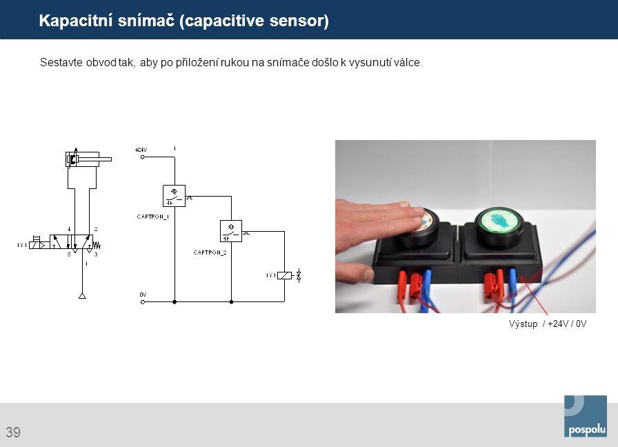 Kapacitní snímač (capacitive sensor)