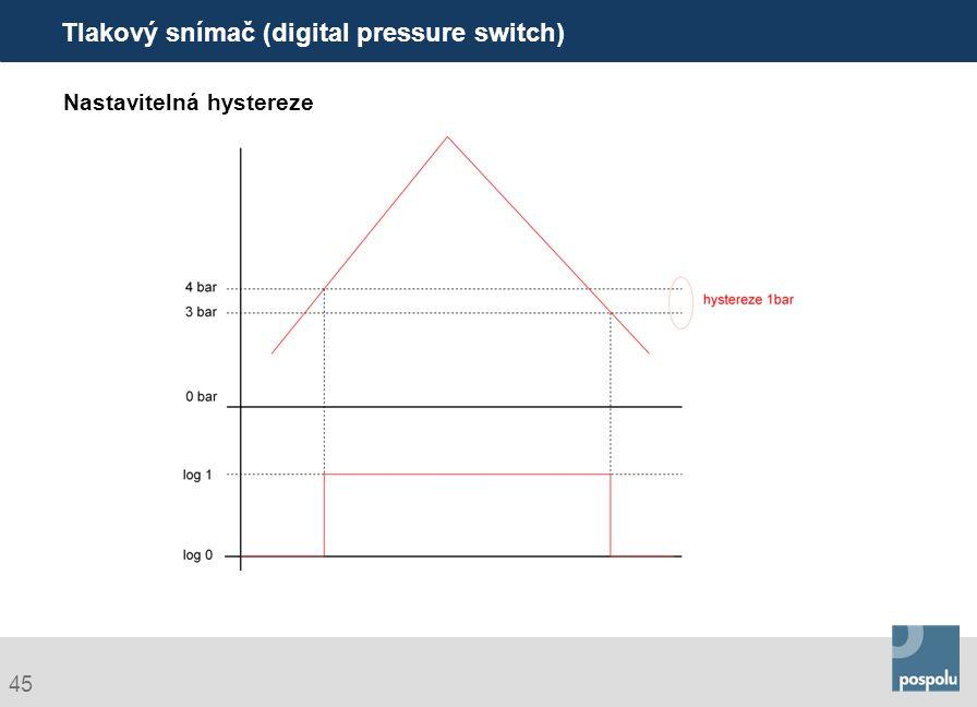 Tlakový snímač (digital pressure switch)