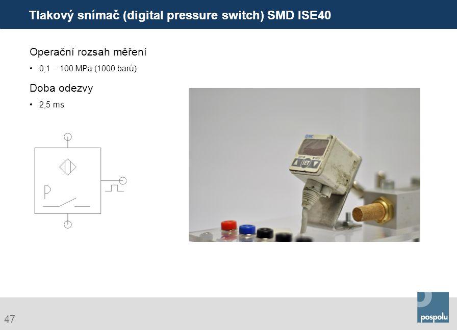 Tlakový snímač (digital pressure switch) SMD ISE40