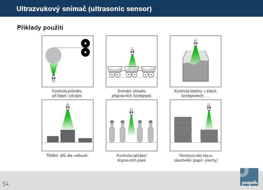 Ultrazvukový snímač (ultrasonic sensor)