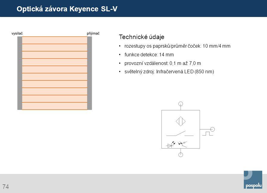 Optická závora Keyence SL-V