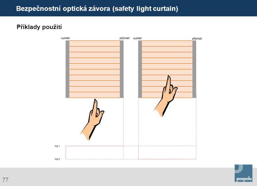 Bezpečnostní optická závora (safety light curtain)