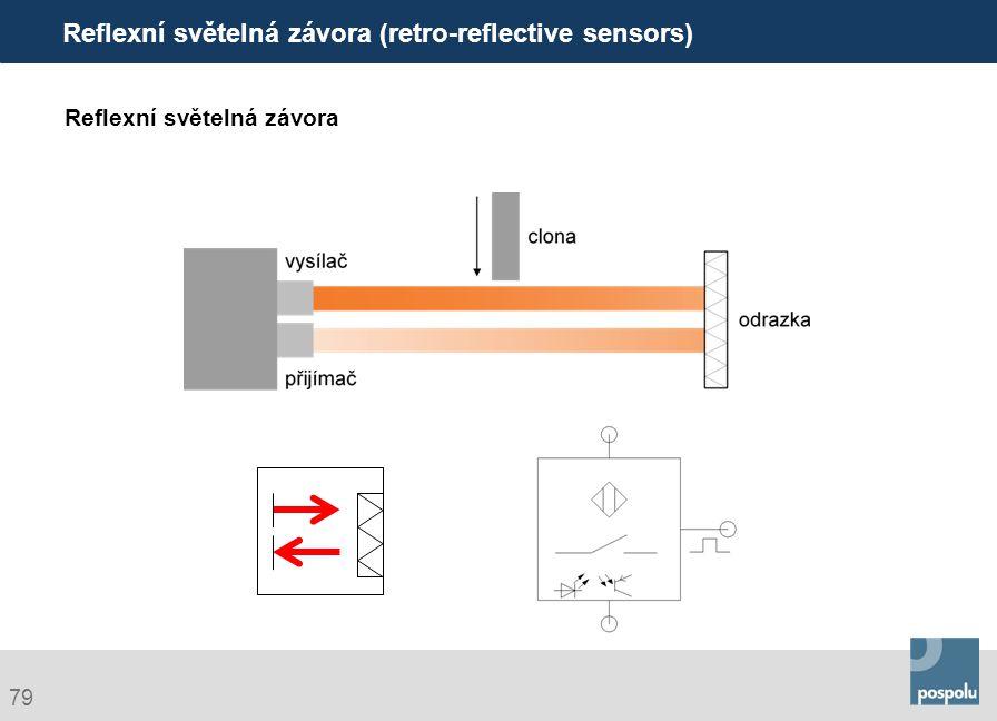 Reflexní světelná závora (retro-reflective sensors)