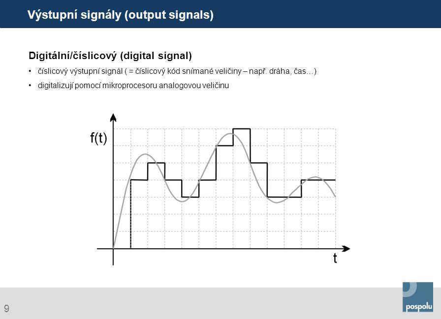 Výstupní signály (output signals)
