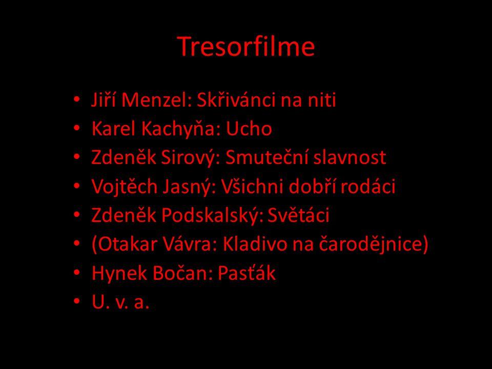 Tresorfilme Jiří Menzel: Skřivánci na niti Karel Kachyňa: Ucho