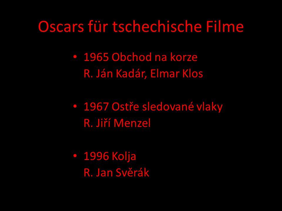 Oscars für tschechische Filme