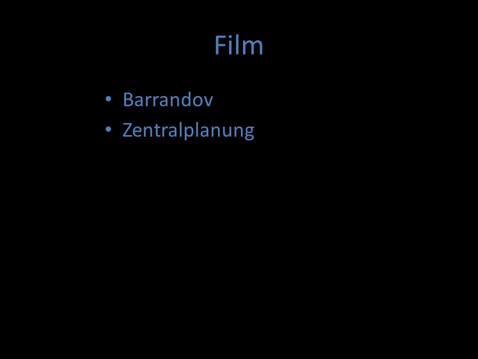 "Film Barrandov Zentralplanung ""Tresorfilme Animationsfilm Filmmusik"