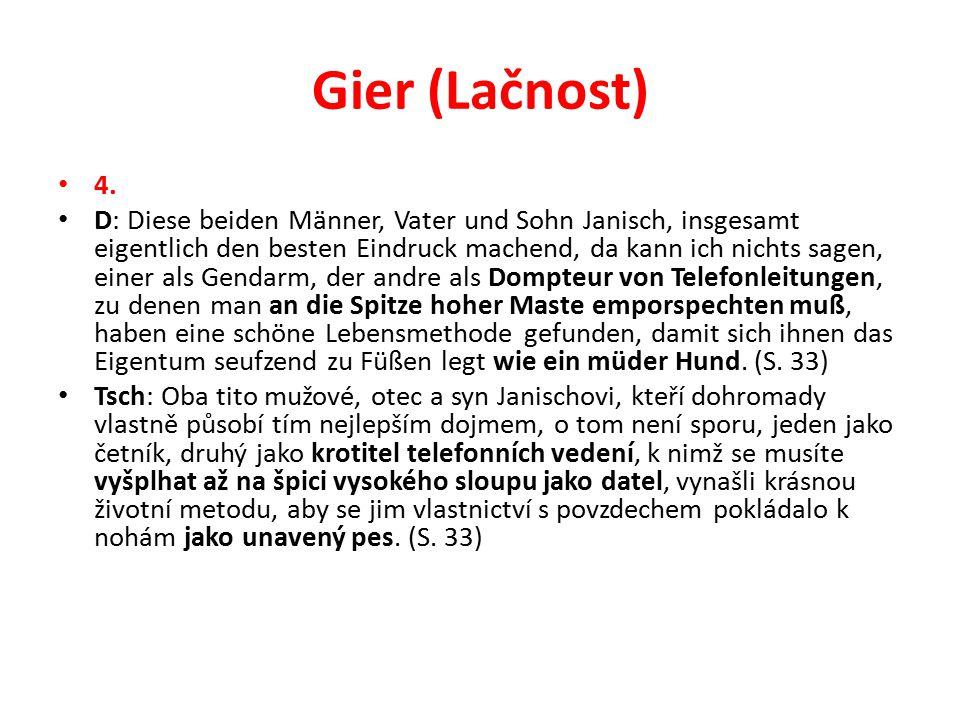 Gier (Lačnost) 4.