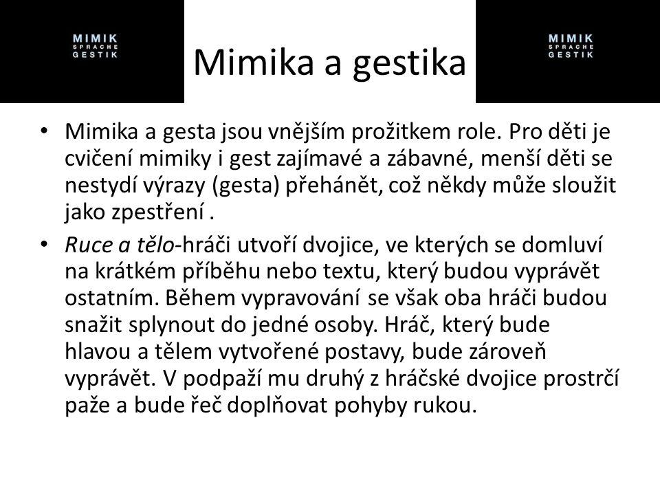 Mimika a gestika