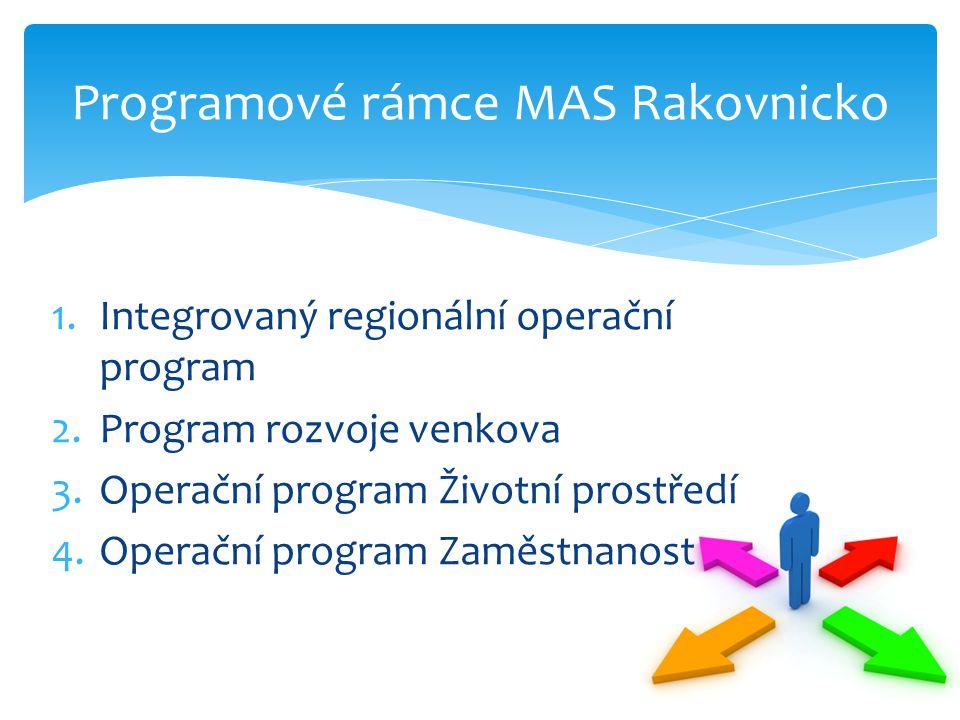 Programové rámce MAS Rakovnicko