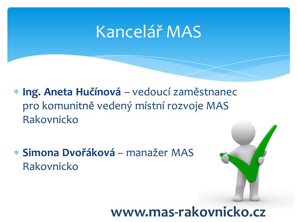 Kancelář MAS www.mas-rakovnicko.cz