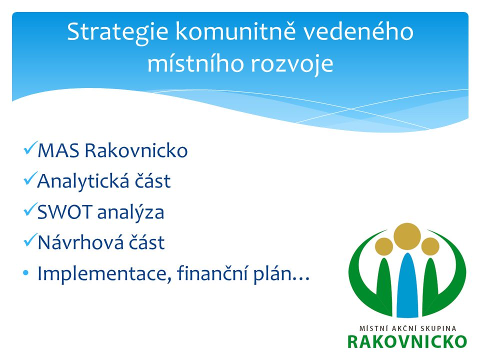 Strategie komunitně vedeného místního rozvoje