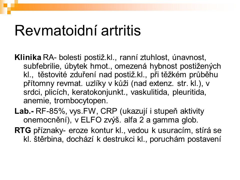 Revmatoidní artritis