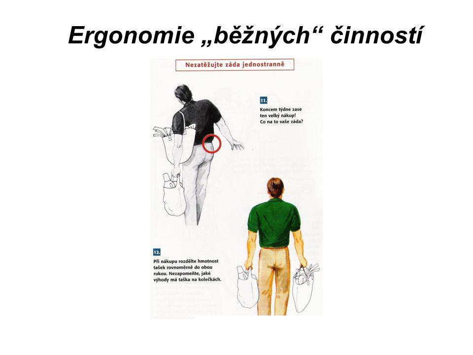 "Ergonomie ""běžných činností"