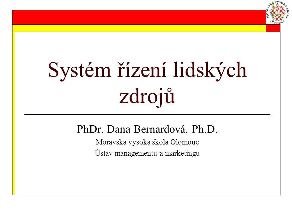 Systém řízení lidských zdrojů