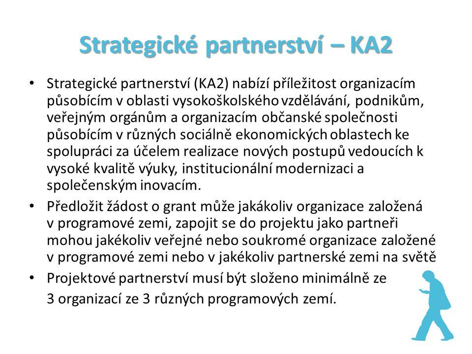 Strategické partnerství – KA2