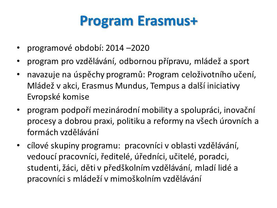 program pro vzdělávání, odbornou přípravu, mládež a sport