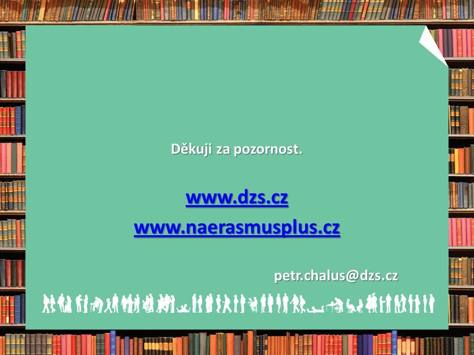 www.dzs.cz www.naerasmusplus.cz petr.chalus@dzs.cz