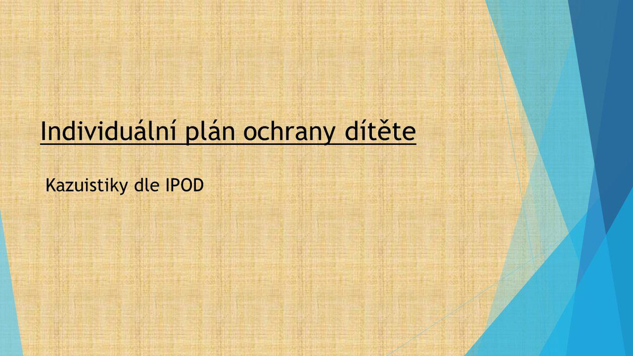 Individuální plán ochrany dítěte