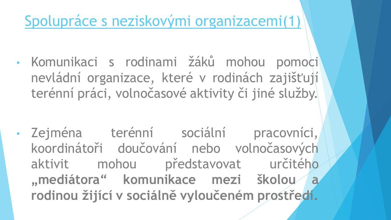 Spolupráce s neziskovými organizacemi(1)