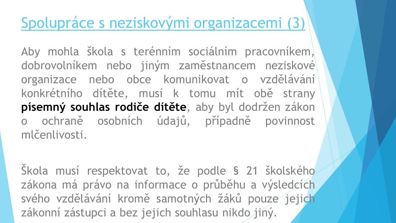 Spolupráce s neziskovými organizacemi (3)