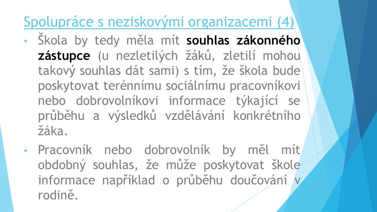 Spolupráce s neziskovými organizacemi (4)
