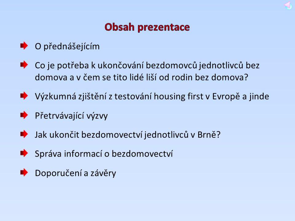 Obsah prezentace O přednášejícím