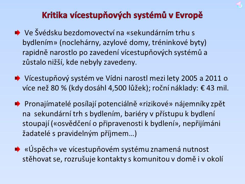 Kritika vícestupňových systémů v Evropě