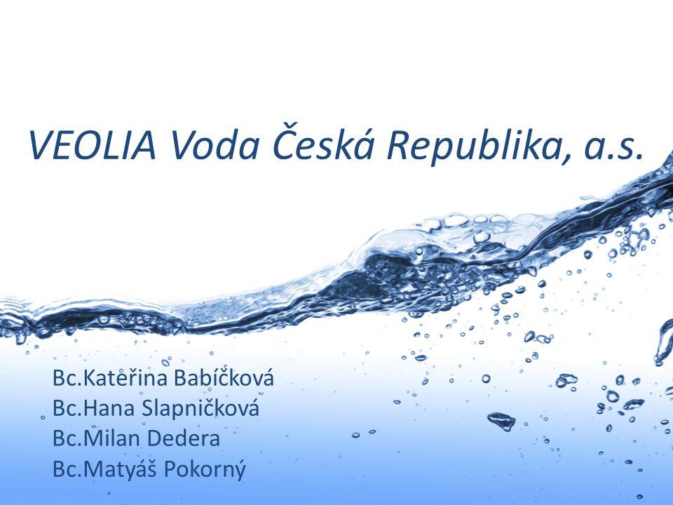 VEOLIA Voda Česká Republika, a.s.