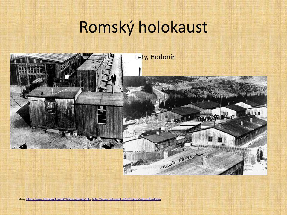 Romský holokaust Lety, Hodonín