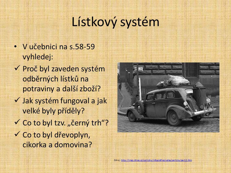 Lístkový systém V učebnici na s.58-59 vyhledej: