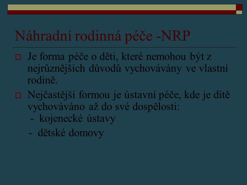Náhradní rodinná péče -NRP