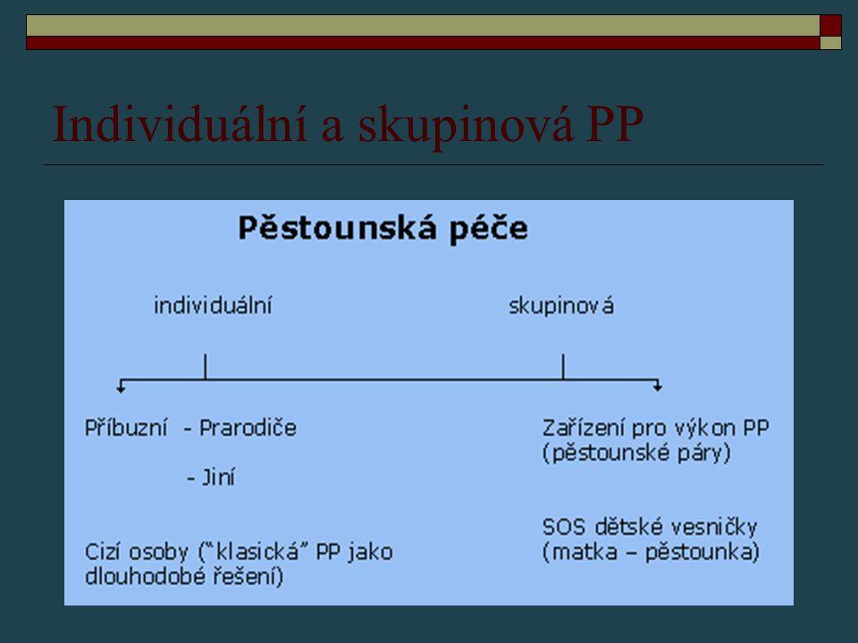 Individuální a skupinová PP