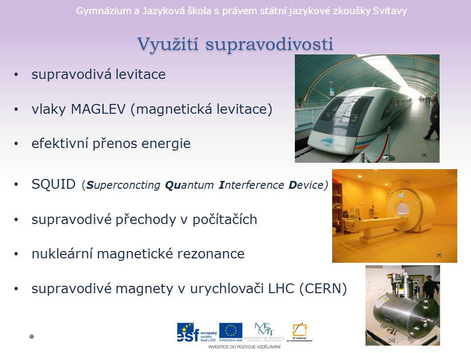 Využití supravodivosti