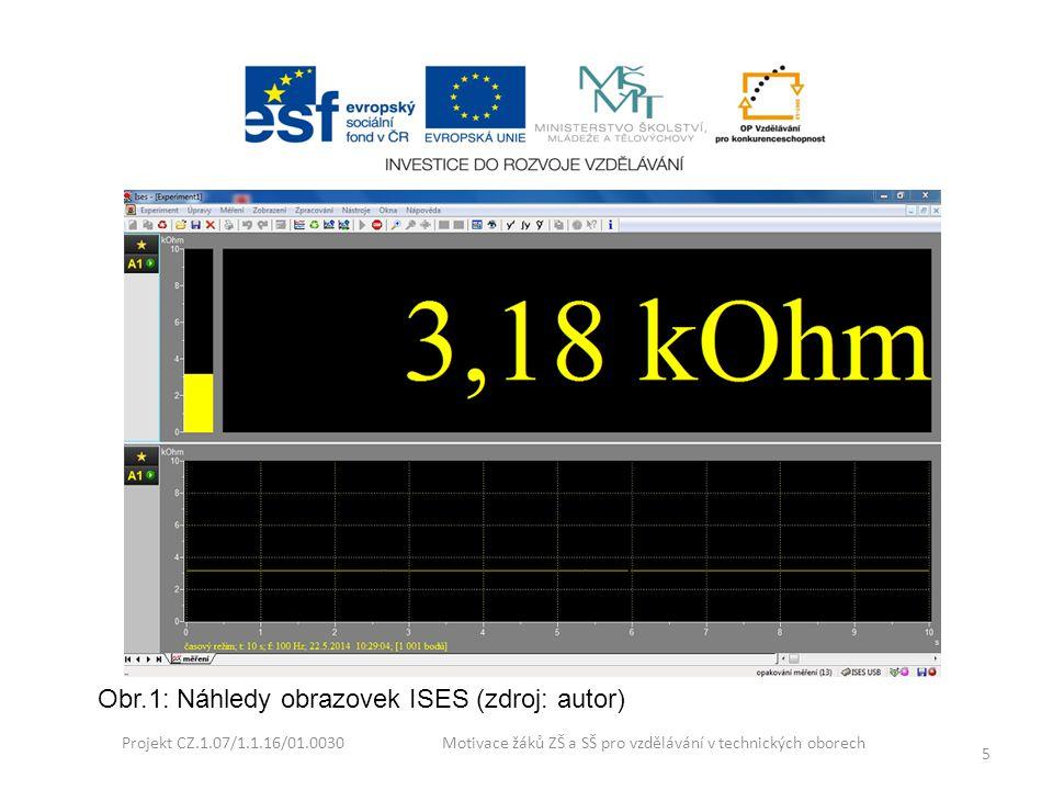 Obr.1: Náhledy obrazovek ISES (zdroj: autor)