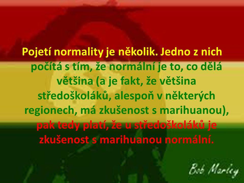 Pojetí normality je několik