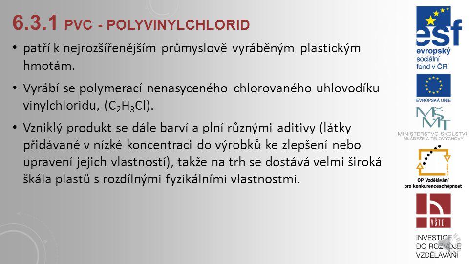 6.3.1 pvc - polyvinylchlorid