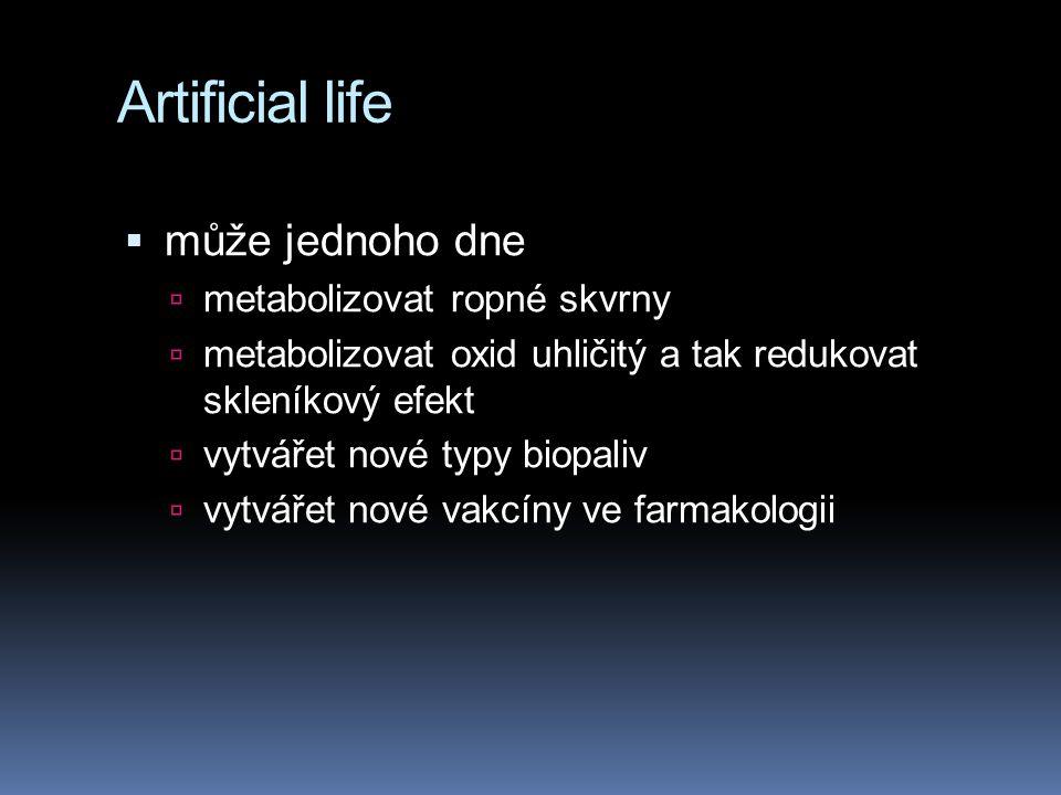 Artificial life může jednoho dne metabolizovat ropné skvrny