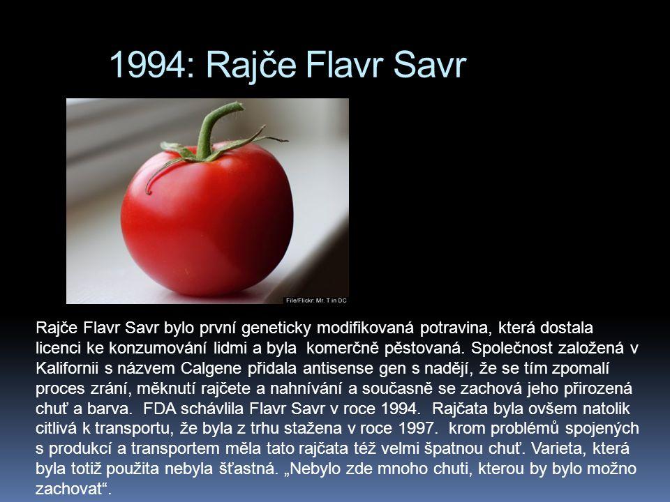 1994: Rajče Flavr Savr